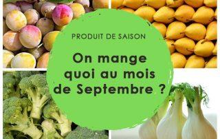 produits saison septembre