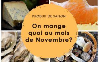 produits saison novembre