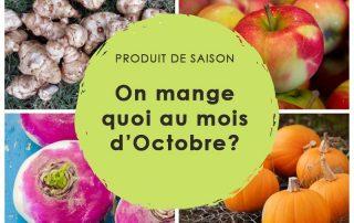 produits saison octobre